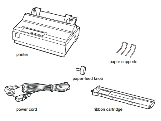 User Manual Download: Epson LX-300+ User's Manual PDF Free