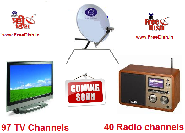Future of DD Free Dish with 97 TV and 40 Radio channels