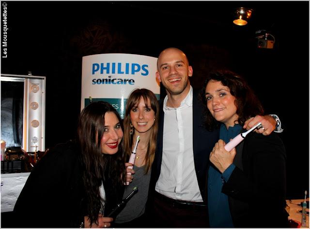 Poulette Glamour Party - Stand Philips Sonicare - Les Mousquetettes©