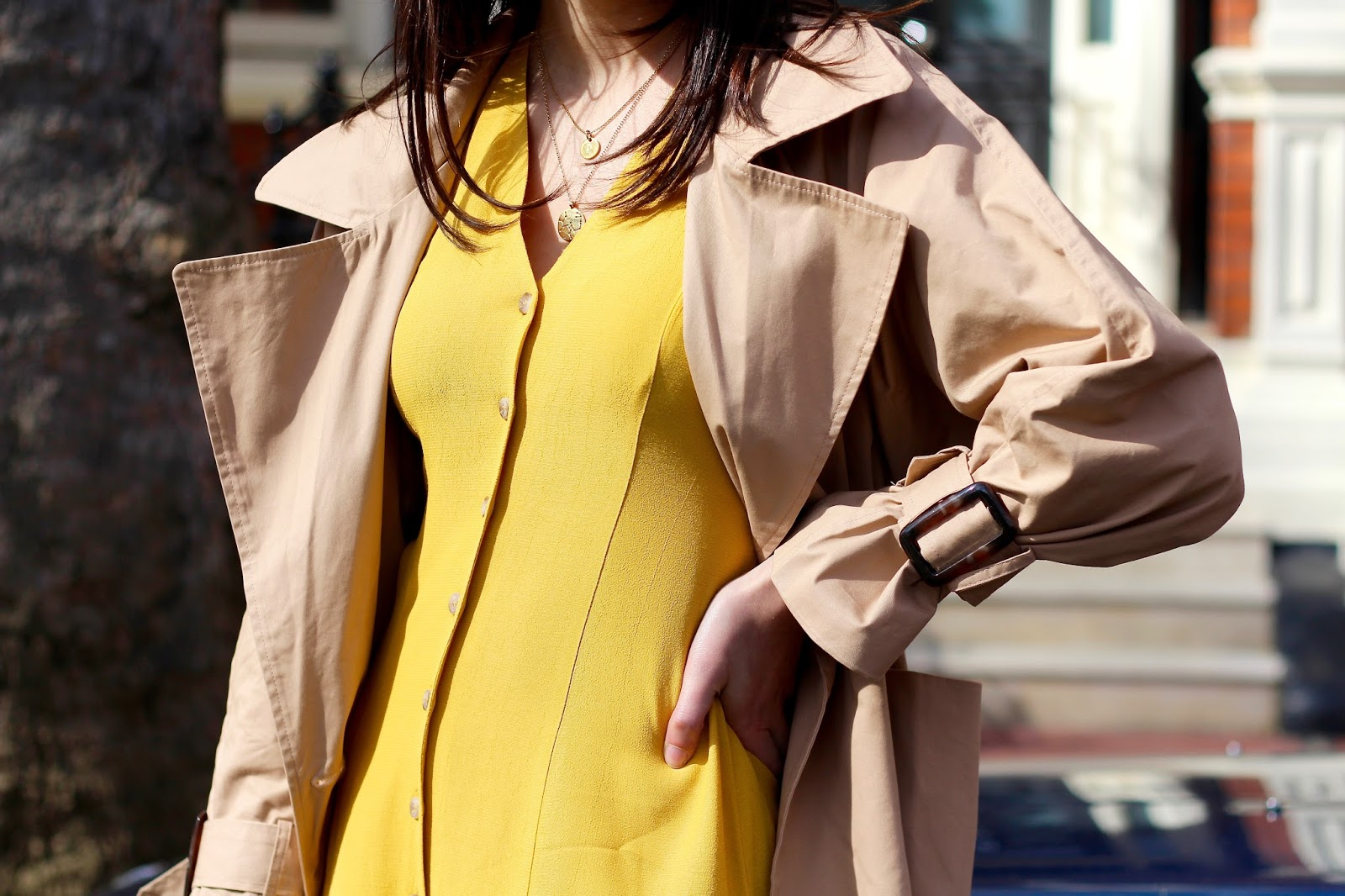boohoo trench coat spring style new look
