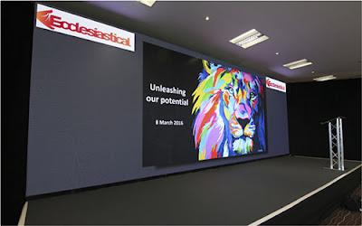 Thiết kế thi công màn hình led p5 nhập khẩu tại quận 12
