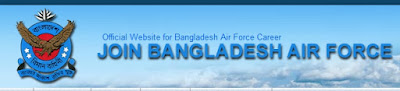 Bangladesh air force job circular for officer cadet