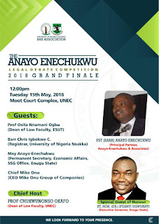 Anayo Enenchukwu Legal debate competition