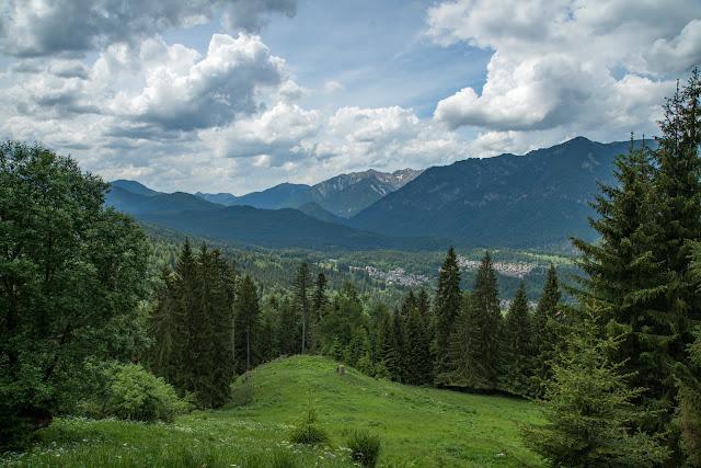 Höllentalklamm und Hupfleitenjoch  Wanderung Garmisch-Partenkirchen 14