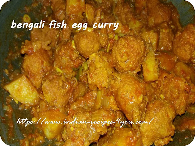 bengali fish egg curry in hindi by Aju p George