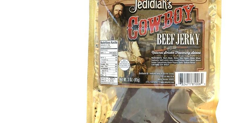 Jedidiah S Beef Jerky Cowboy Beef Jerky Reviews