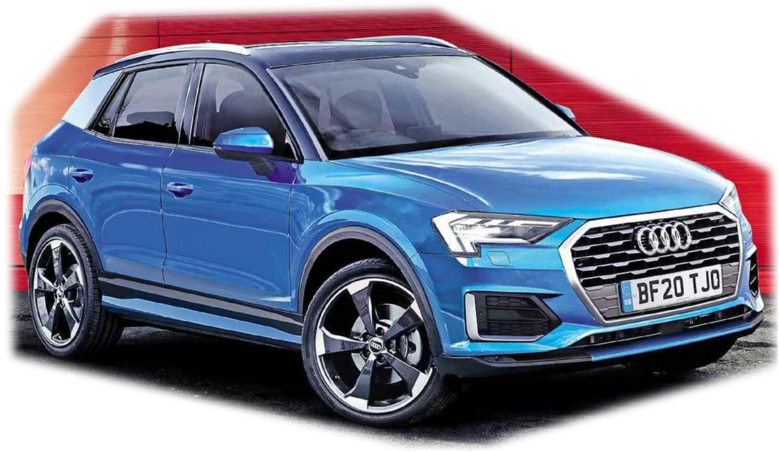 Audi Q1 Anteprima