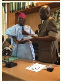 Ishaq Oloyede Resumes As JAMB Registrar; See How He Was Received (photos)