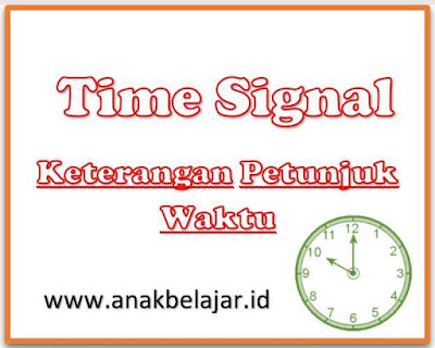 time signal for simple present tense