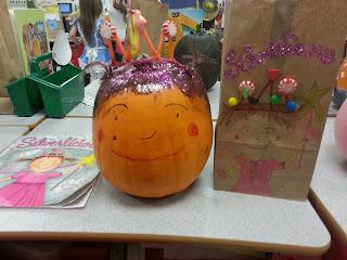 Pumpkin Book Reports- Pinkalicious