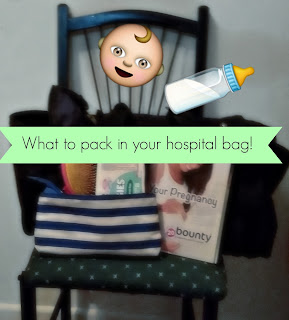 What to pack in my hospital bag