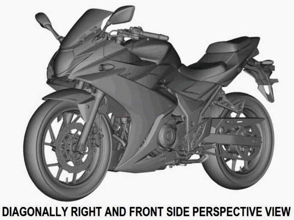 Kenapa Suzuki GSX-R250 masih mengadopsi desain dengan singel headlamp ?