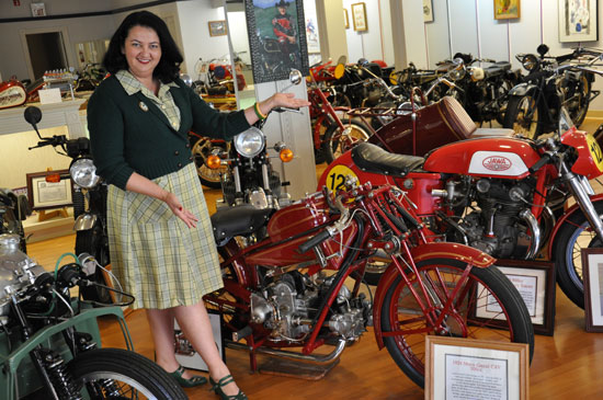 Solvang vintage motorcycle museum by Lady by Choice