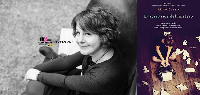 La scrittrice del mistero, di Alice Basso - Recensione
