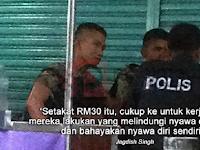 Abang-abang Polis dan Tentera Makan Belum Bayar, Pakcik Ini Bilang 'Dik, Saya Bayar Untuk Diorang Sekali'