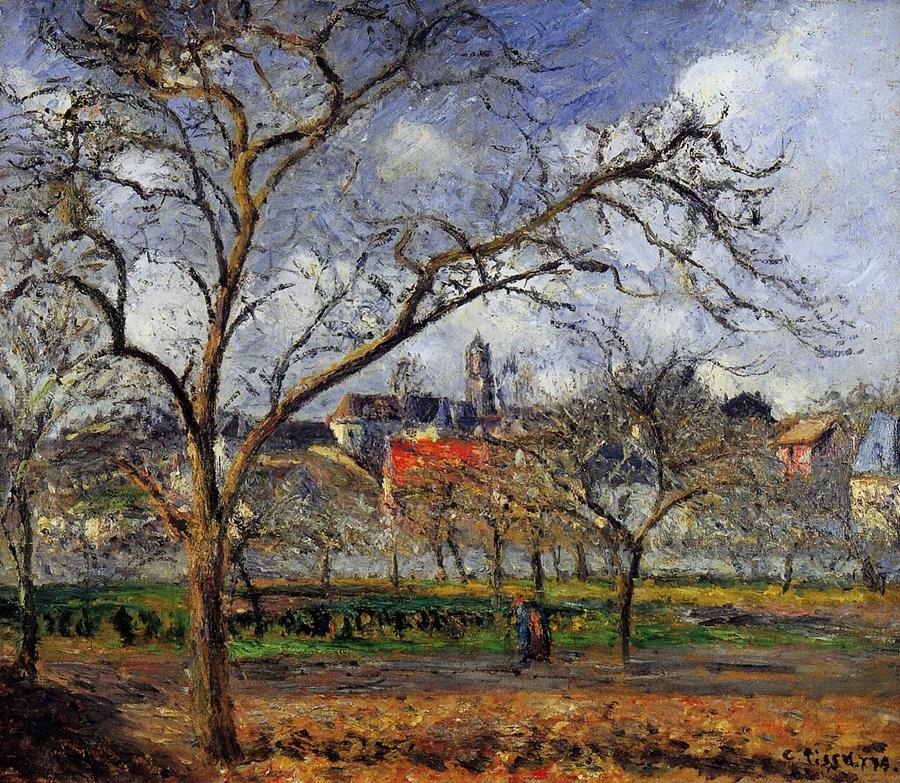 Neo Impressionism: Camille Pissarro ~ Autumn At Eragny