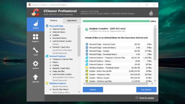 برنامج  CCleaner