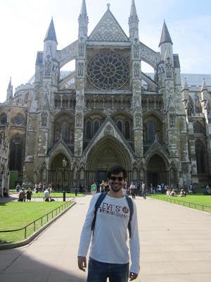 Abadia de Westminster em Londres, Inglaterra