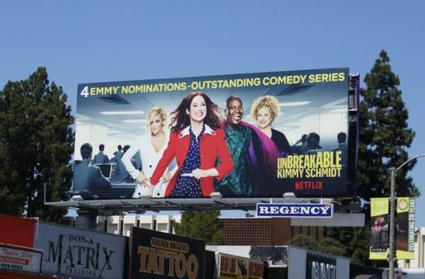Unbreakable Kimmy Schmidt 2018 Emmy nominations billboard
