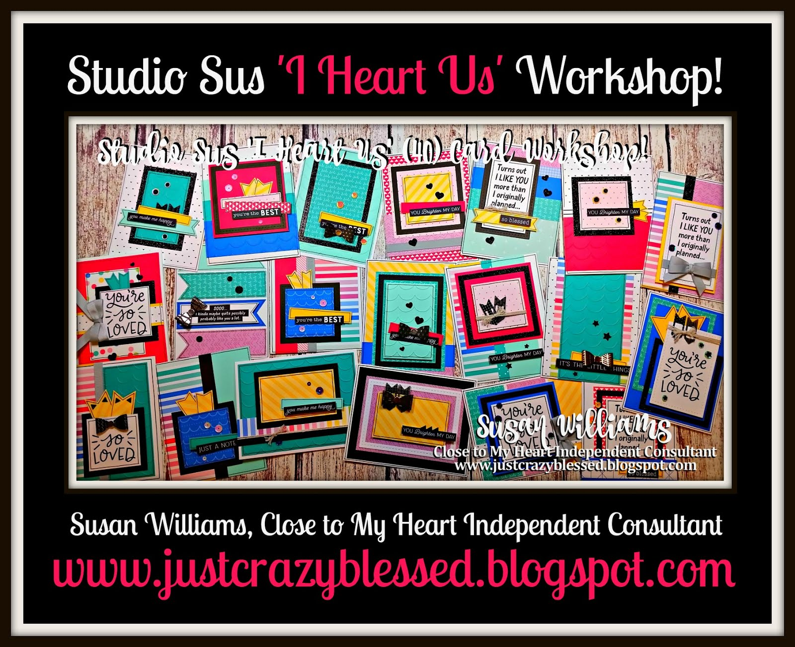 'I Heart Us' Cardmaking Workshop!