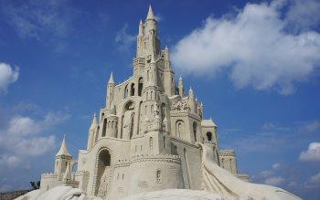 Wallpaper: Sand Castle