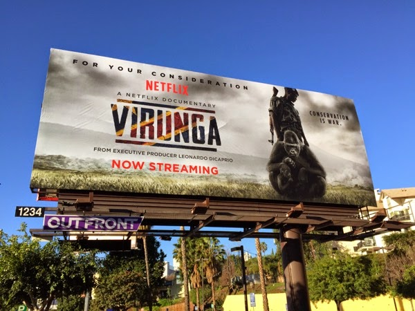 Virunga Documentary billboard