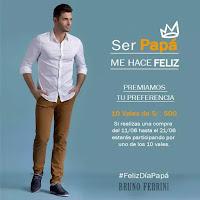 Promoción: BRUNO FERRINI Gana: 10 vales de S/. 500 soles en www.brunoferrini.com.pe