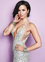 Demi Lovato em lingerie