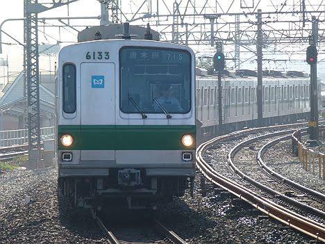 常磐線 唐木田行き4 6000系幕車(2012.9消滅)