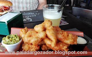 Campeche restaurant La Reina Dips de pollo