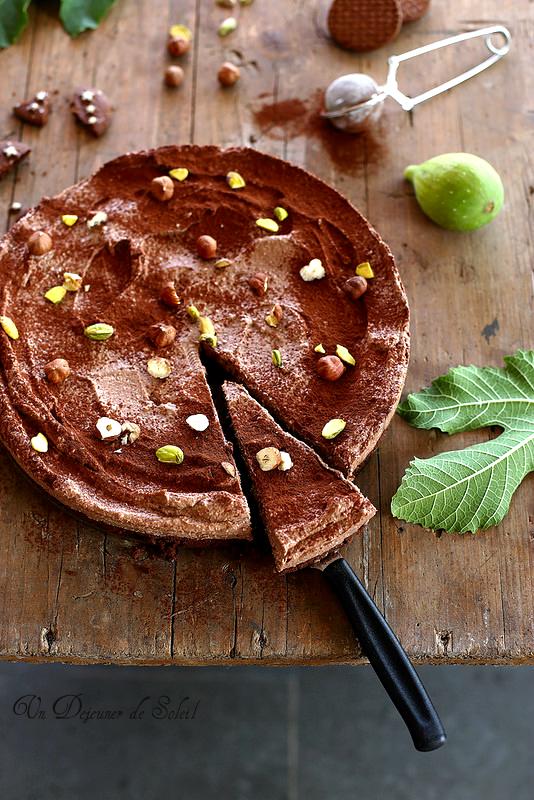Cheesecake ricotta chocolat