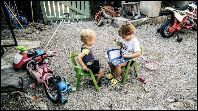 lecture entre frère
