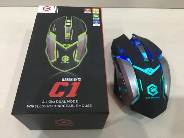 Cyborg C1 mouse gaming murah 2019