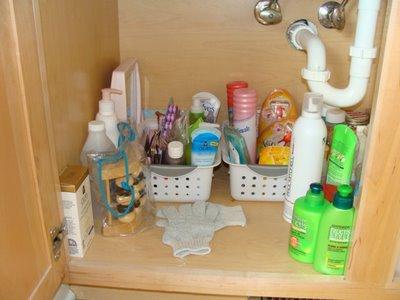 modern home interior design: bathroom organization