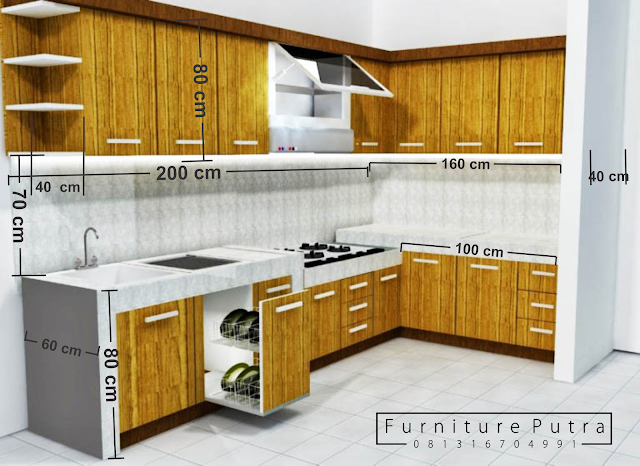 Kitchen Set Di Batam Furniture Putra Batam 081316704991