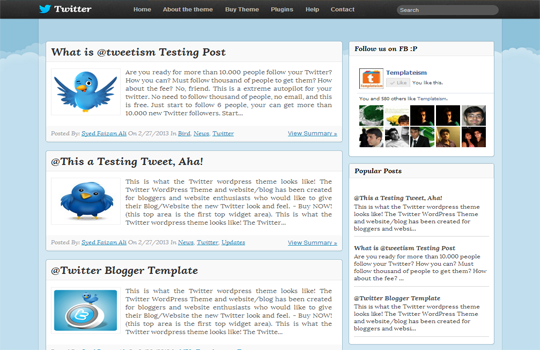 Top 7 free premium blogger templates of 2013 with sticky menubar maxwellsz