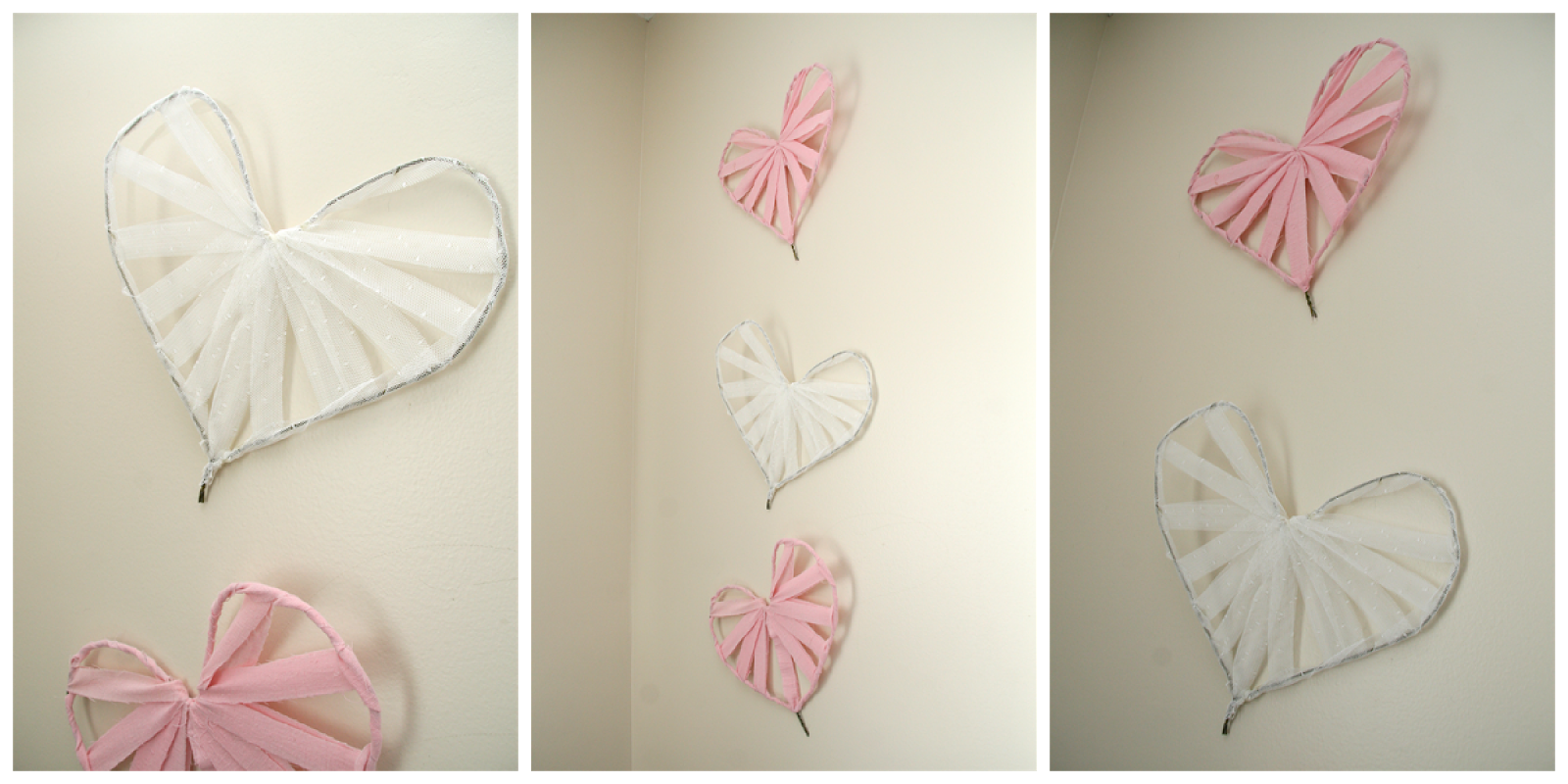 Creative Mess Easy DIY Heart Wall Art