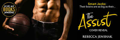 Cover Reveal THE ASSIST by Rebecca Jenshak