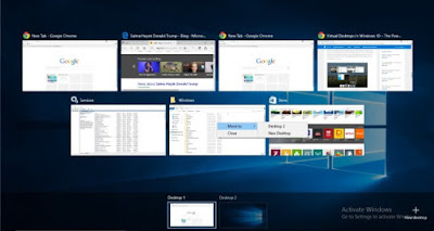 Task View dan Virtual Desktops di Windows 10 2