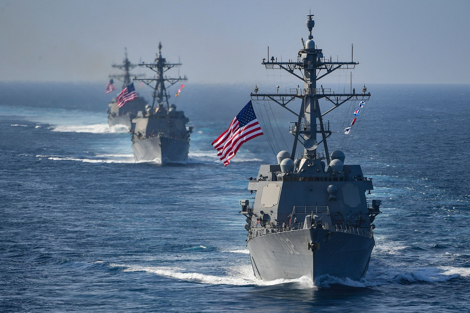 US Destroyers sail in South China Sea as Trade Talks Collapse