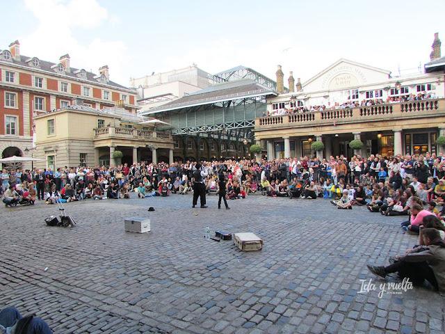 Ideas Londres con niños Covent Garden