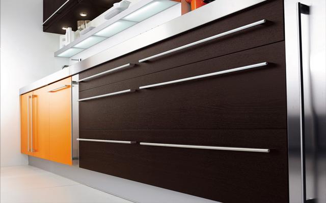 Marzua ideas para decorar con tiradores de cocina for Tiradores muebles cocina