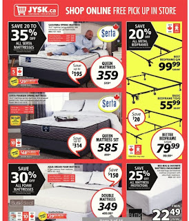 JYSK Boxing Week Sale Extenderd Dec 29 - Jan 3, 2018