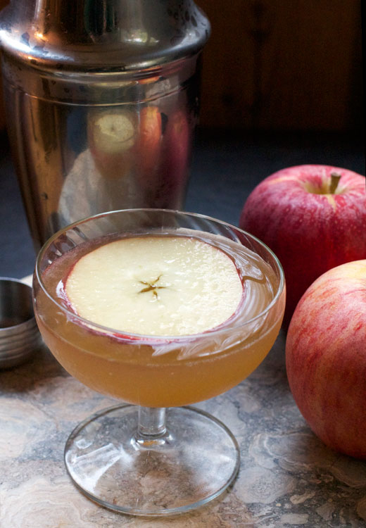 Apple Cidercar Cocktail || A Less Processed Life