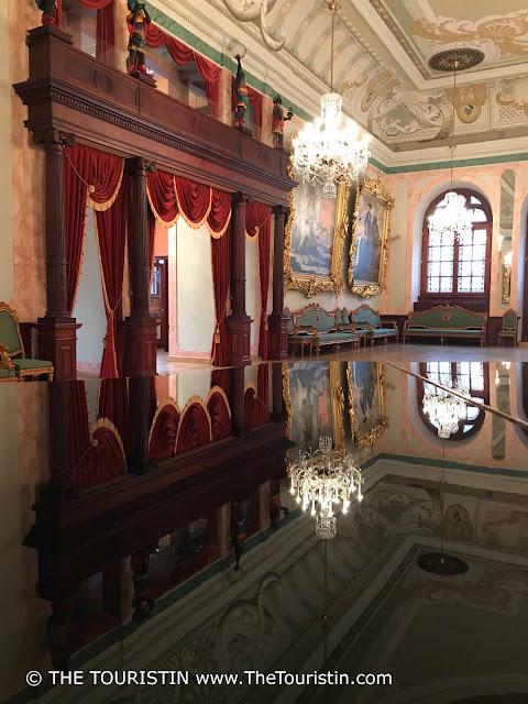 Latvia. House of Blackheads Riga, Celebration hall. The Touristin