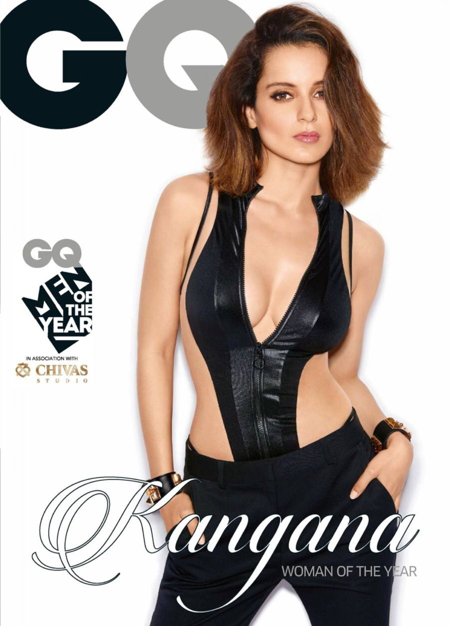 Kangana Ranaut GQ black dress pic, Kangana Ranaut hottest photos ever, Kangana Ranaut hot pics, Kangana Ranaut hot wallpaper, Kangana Ranaut in tight dress