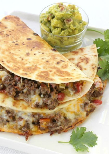 Pan Fried Beef Tacos