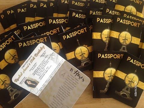 Invitation : Paris Black Passport