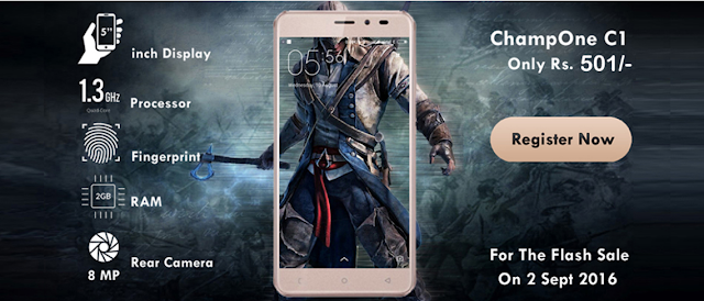 ChampOne C1 Smartphone