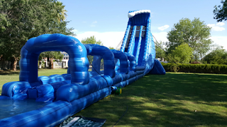 AZ biggest water slide rentals